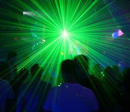 People Dancing to Trance Music