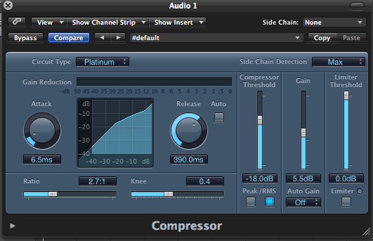 Audio Compressors detailed and explained with functions (part 1)